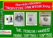 Servicio tecnico secadoras  white westinghouse    lima  2565734