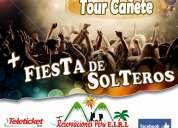 Tour + fiesta de solteros lunahuaná - 2d/1n