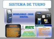 Sistemas de gestion de turnos/max-300k digital/max-305k electronico/maxsotec