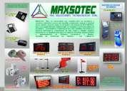 Sistemas de colas para recepcion/para tv con dispensador mecanico/maxsotec