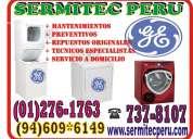 Autorizado ! servicio técnico - lavadoras, secadoras general electric 2761763