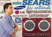 !!! reparacion, mantenimiento lavadoras general electric (sears service))!!!
