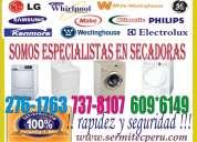 Tecnicos 7378107 lavadoras secadoras refrigeradoras lima y callao reparaciÓn y mantenimiento