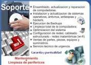Servicio tecnico computadoras, laptops y tablets - rpc 9873379
