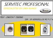Servicio tecnico ( 2565734 ) lavadoras whirlpool lima
