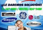 E.i.r.l (lavadoras general electric) t.242-4766  ubiquenos ahoramismo