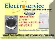 Servicio técnico profesional en lavadoras w.h.i.r.l.p.o.o.l* *988036287**