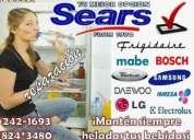 (**usamos repuestos originales!!**)242-1693// servicio tecnico de refrigeradoras ((whirlpool--bosch