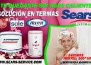 Muchos aÑos a su servicio reparacion de termasy termotanques sole-rheem.reggia-calorex)t.447-2306