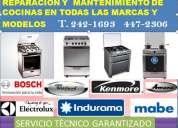 Asistencia para cocinas whirlpool mantenimiento  de cocinas mabe-bosch
