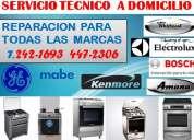 Experiencia y servicio garantizado( cocinas general electric,bosch t.447-2306