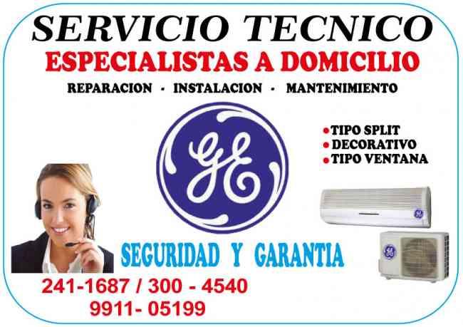 TECNICOS GENERAL ELECTRIC 2411687 AIRE ACONDICIONADO