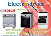 Mantenimiento –reparación  de cocinas eléctricas y a gas  bosch