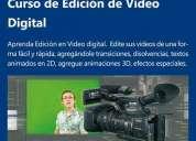 curso de edicion de video profesional  lima