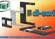 Sensores  fotoelectricos laser de horquilla