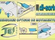 Sensores Ópticos de movimiento