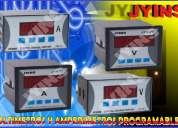 Amperimetros digitales (programables)
