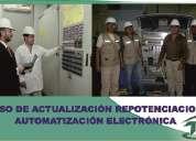 Actualizacion, repotenciacion y autoatizacion electronica