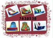 Alquiler de juegos inflables empresa saltarines jumping 763-85-38