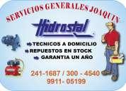 Tecnicos hidrostal 2411687 bombas de agua mantenimiento