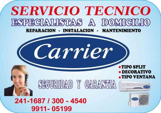 SERVICIO TECNICO─═☆  CARRIER ☆═─  AIRE ACONDICIONADO 2411687