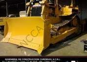 Tractor oruga cat d6 r  con ripper compresoras martillos venta alquiler – incca