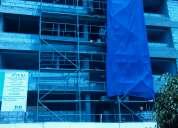 Andamios de fachada, alquiler y venta escaleras de acceso, somos fabricantes andamios