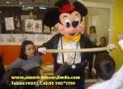 Show infantiles en sn borja lima america show tel 6674037 cel 991764117 chicotecas luces sonido