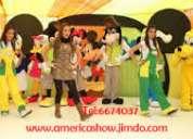Show infantiles en surco lima america show tel 6674037 cel claro 991764117