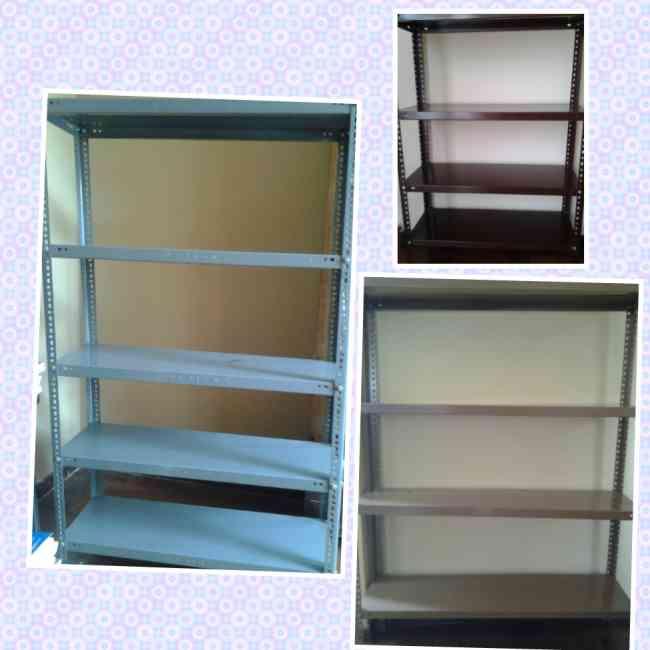 Vendo estantes metalicos desarmables precio de ocasion for Estantes para oficina precios
