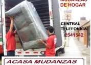 Mudanzas de oficinas - telefonos: 2541542 / 997563635 / 412*0463