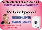 Whirlpool reparacion de lavadoras secadoras tlf 2410157