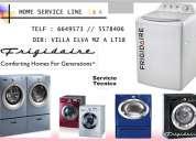 Servicio tecnico lavadoras frigidaire 6649573 § lima