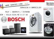 Servicio tecnico a domicilio 6649573 lavadoras bosch lima