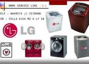Servicio tecnico lavadoras lg lima 6649573