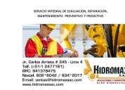Servicio integral  reparacion, mantenimiento  preventivo y predictivo
