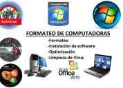Curso aprenda formateo y reparacion de pc. computadoras y laptop, instalación de programas