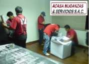 Mudanzas en lima - cotizaciones gratuitas - telefonos: 2541542