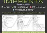 Imprenta & publicidad  telf.:  5444321  •  rpm: #998878380  rpc: 989 858 166