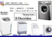 Servicio tecnico lavadoras electrolux - 5578406 lima