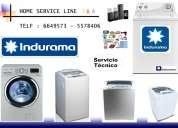 Servicio tecnico lavadoras indurama lima 5578406 - 947522450