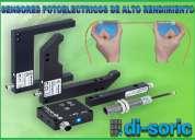 Sensores fotoelectricos de alto rendimiento