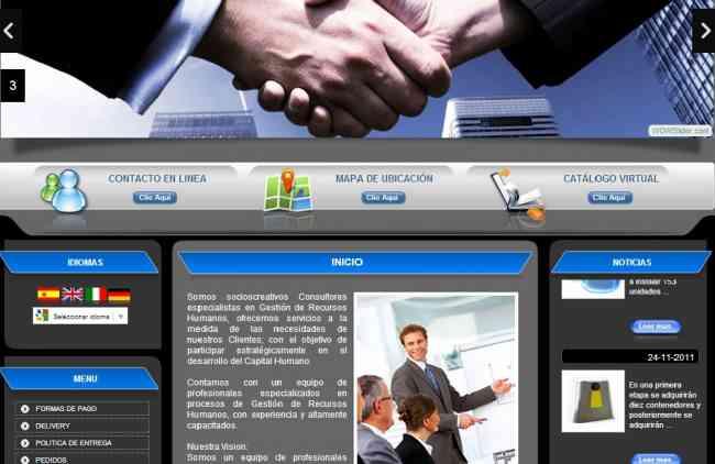 PAGINAS WEB INSTANTANEAS ADMINISTRABLES Y 200 CORREOS CORPORATIVOS A 85 DOLARES
