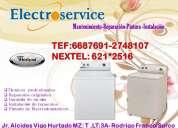 N°1...servicio tecnico de lavadoras frigidaire .100%
