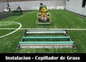 Instalaciona de campor deportivos   grass sintetico