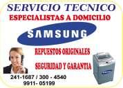 servicio tecnico  samsung reparacion de lavadoras digitales 2411687