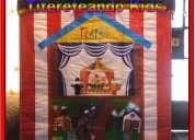 Show de titeres en lima para niños en nidos colegios y fiestas infantiles