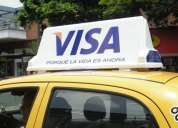 Publicidad en taxis ciudad de lima