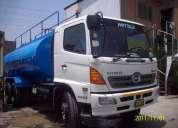 Alquiler de camiones cisterna
