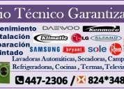 Atento sears/ servicio tecnico de lavadoras electrolux t: 447-2306